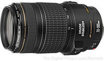 Canon EF 70-300mm f/4-5.6 IS USM Lens - $379.00 (Compare at $649.00) | The only way is Canon Camera's | Scoop.it