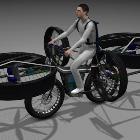 "Move Over, Hoverboards: This Bike Lets You Fly | L'impresa ""mobile"" 