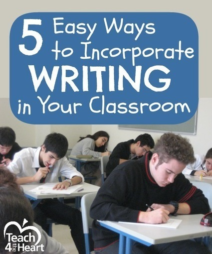 5 Easy Ways to Incorporate Writing in Your Classroom | Special Science Classroom | Scoop.it