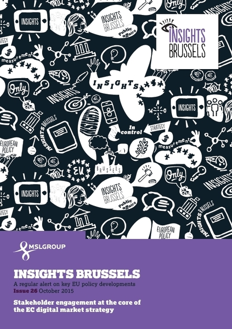 MSLGROUP - Insights Brussels - October 2015 | Public Relations | Scoop.it