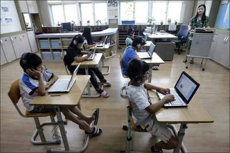 Education Week: South Korea to Replace All Paper Textbooks With Digital Content | An Eye on New Media | Scoop.it