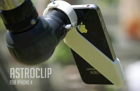 Make iPhone Astrophotography Easier With The AstroClip! | Planets, Stars, rockets and Space | Scoop.it