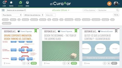El Curator s'enrichit de flux RSS personnalisés | RSS Circus : veille stratégique, intelligence économique, curation, publication, Web 2.0 | Scoop.it