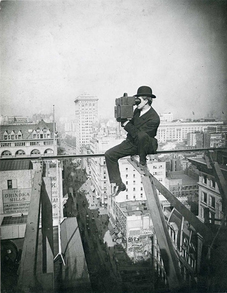 This is a Rooftopping Photographer From the 1920s | xposing world of Photography & Design | Scoop.it