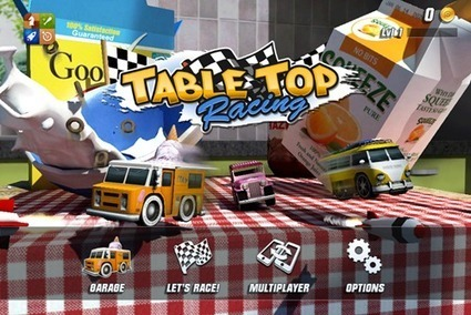 Table Top Racing For iPhone, iPad And iPod Touch + Ipa | Apps and Games Full download for Smartphone Android, Blackberry, IPhone, Windows Mobile, HTC, Sony XPeria, Nexus, LG, Samsung | Scoop.it