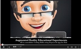 Excellent Videos OnThe Use of Augmented Reality Apps by Students ~ Educational Technology and Mobile Learning | Technology in the Special Needs Classroom | Scoop.it