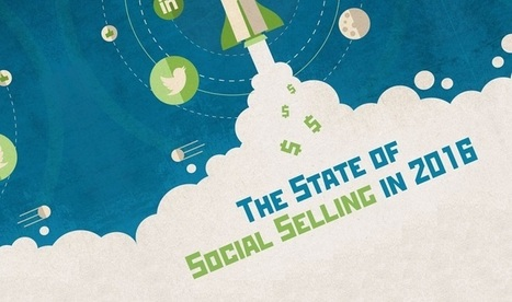 The State Of Social Selling In 2016 - #Infographic | Brand Storytelling | Scoop.it