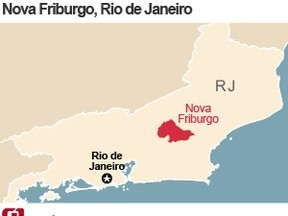 Cidades do interior Rio contabilizam estragos com as chuvas   ArcGIS Geography   Scoop.it