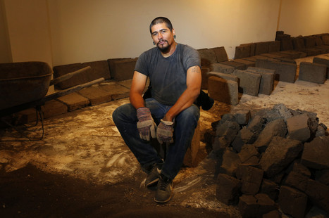 Artist Rafa Esparza is using 5,000 adobe bricks to make a building-inside-a-building in Hollywood   Social Art Practices   Scoop.it