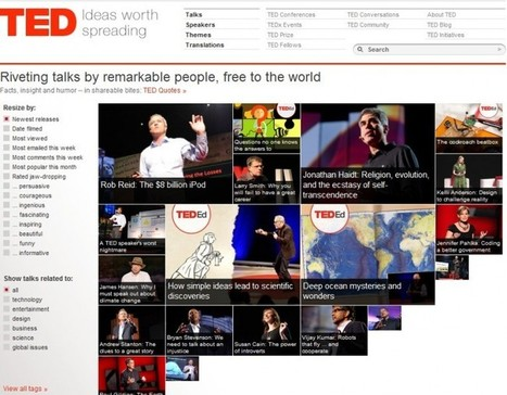 TED Releases Android App; 1,100 Talks At Your Fingertips | AtDotCom Social media | Scoop.it
