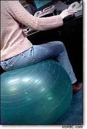 Exercise balls as office furniture | Interior Design | Scoop.it