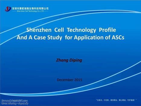 Shenzhen Cell Technology Profile | wesrch | Scoop.it