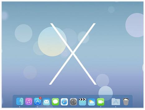 Un OS X à la SAUCE iOS 7   Machines Pensantes   Scoop.it