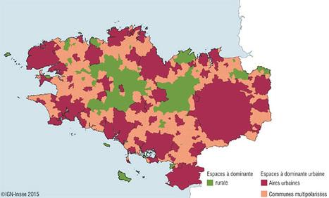 Une NOUVELLE approche sur les espaces à faible et forte densité - Insee | URBANmedias | Scoop.it
