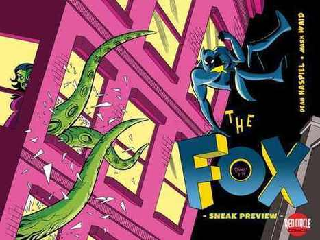 Waid and Haspiel trap THE FOX for Archie - Newsarama | Things I find on the internet | Scoop.it