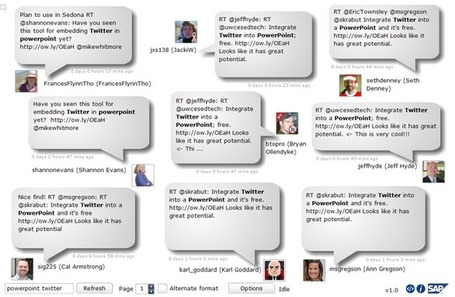 How To Integrate Live Tweets Into Your Presentations | Edudemic | Teaching and Learning in HE | Scoop.it