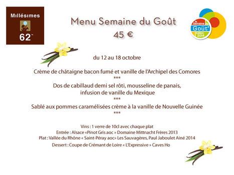 Vanille à l'honneur pour la semaine du Goût au Millésimes 62 ! | Gastronomie Française 2.0 | Scoop.it