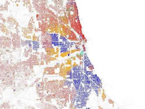 21 Maps Of Highly Segregated Cities In America | Hitchhiker | Scoop.it