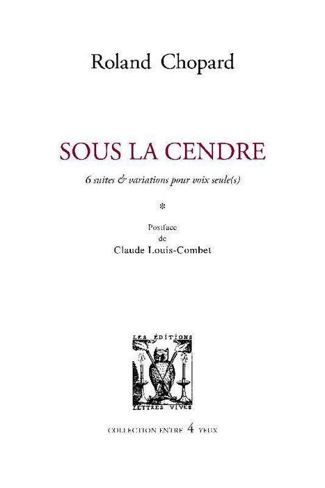 Roland Chopard |  [C'est un peu plus compliqué] #TdF #Anthologie_Poésie_d_un_jour | TdF  |   Poésie contemporaine | Scoop.it