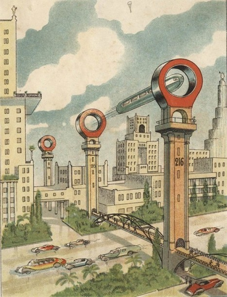 How people used to imagine vehicles of the future. | Science Fiction | Scoop.it