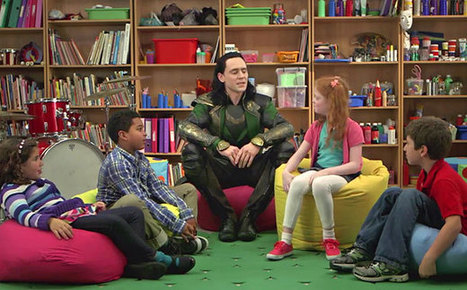 'Thor: The Dark World' comedy exclusive: Loki argues with kids | Library | Scoop.it