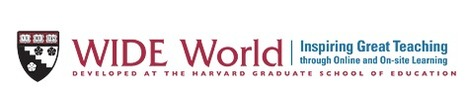 WIDE World at Harvard Graduate School of Education | 21st Century Teaching and Learning Resources | Scoop.it