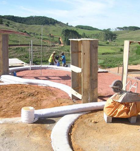 Earthbag Building: Community Center for Al-Jawasreh Village | BioArchitecture | Scoop.it
