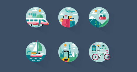 20 Awesome Free Travel & Tourism Iconsets You Can Download | El Mundo del Diseño Gráfico | Scoop.it