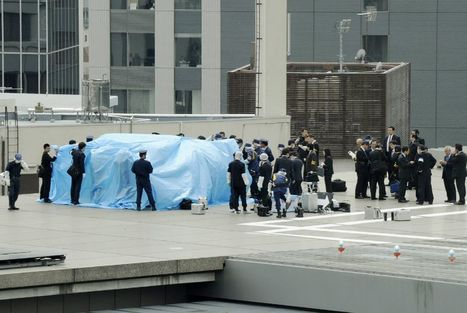 Drone with 'minuscule' levels of radiation lands on Japanese PM's office | Technoculture | Scoop.it