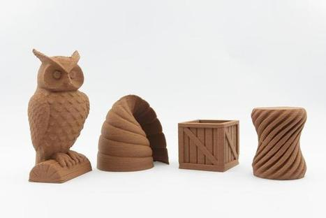 Polymakr: Entirely New Materials for Desktop 3D Printing | 3d printers and 3d scanners | Scoop.it