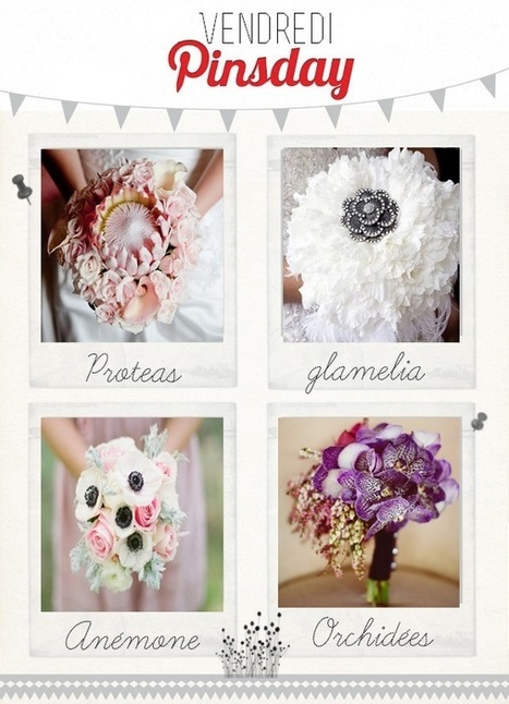 bouquets de mariée | My wedding thing | deco | Scoop.it