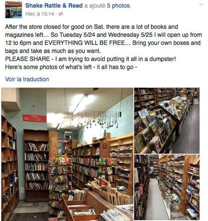 Le streaming contraint son magasin de disques à fermer : il donne son stock ! - Rockawa | Bruce Springsteen | Scoop.it