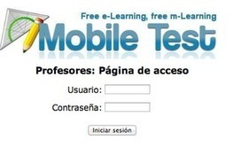 En la nube TIC: Mobile test | Las TIC y la Educación | Scoop.it