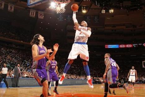 NBA : Carmelo et New York assurent | Basket ball , actualites et buzz avec Fasto sport | Scoop.it