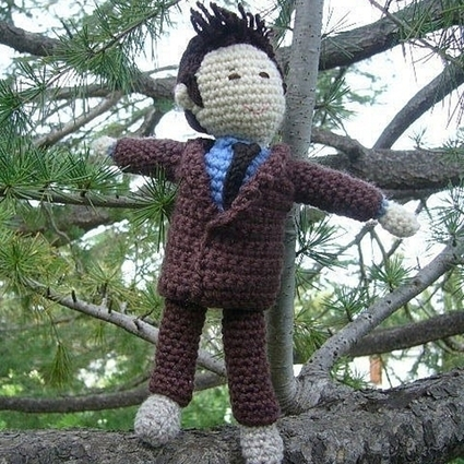 Tenth Doctor Who doll | crochet for babies | Scoop.it