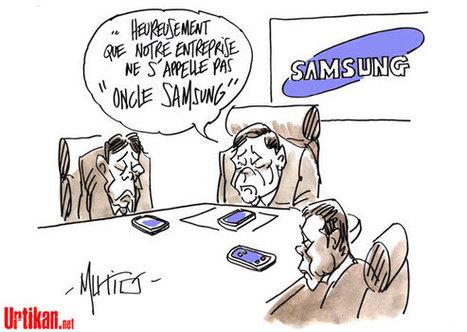 Victoire d'Apple contre Samsung | Baie d'humour | Scoop.it