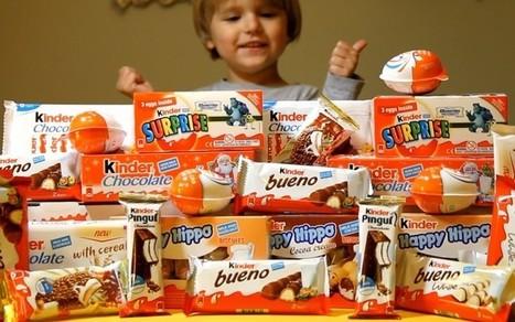 Kinder, ses oeufs avec la surprise dedans, son chocolat, et son huile minérale cancérigène… | Toxique, soyons vigilant ! | Scoop.it