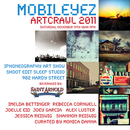 MOBILEYEZ: iPhoneography Art Show // Artcrawl 2011 | 19NOV11 | Appertunity's fun & creative iphone news | Scoop.it