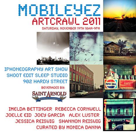 MOBILEYEZ: iPhoneography Art Show // Artcrawl 2011 | 19NOV11 | Appertunity's fun & creative iphone news | Scoop.it