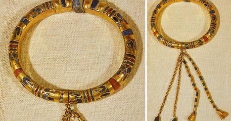 Le bracelet à pampilles d'un grand-prêtre d'Ammon, souverain de Thèbes | Centro de Estudios Artísticos Elba | Scoop.it