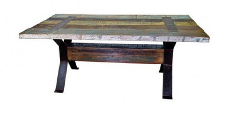 Iron and Wood Dining Table | Iron and Wood Dining Table | Scoop.it