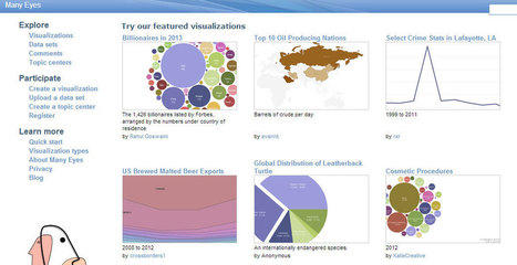 39 Data Visualization Tools for Big Data | ProfitBricks Blog | Data Visualization | Scoop.it