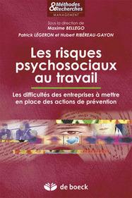 Les risques psycho-sociaux au travail. Les difficultés des entreprises ...   SERVICE SOCIAL DU TRAVAIL   Scoop.it