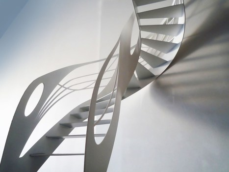 L'escalier design et l'art du débillardé | Escalier Design Mobilier Contemporain de style Art Nouveau | Scoop.it
