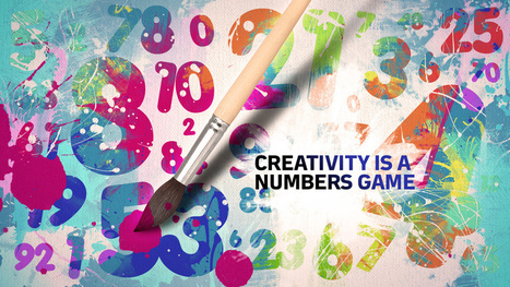 """Creativity Is a Numbers Game"" 