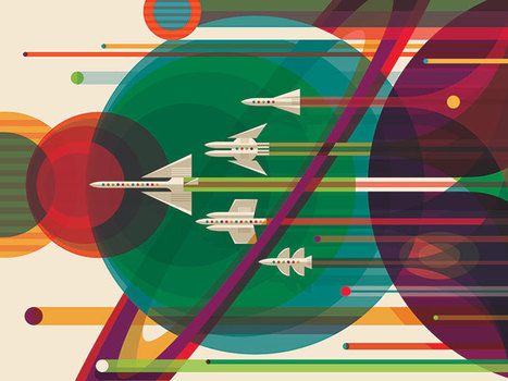 NASA's Giving Away Brilliant Space Travel Posters For Free | ICT in Education | Scoop.it