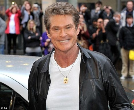Everyone's excited for England's pulsating Six Nations finale against Wales... even Baywatch superstar David Hasselhoff | David Hasselhoff News | Scoop.it