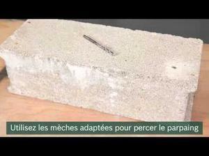 [BRICOLER FACILE] Comment percer dans du parpaing | Best of coin des bricoleurs | Scoop.it