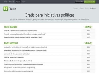 Negonation Blog » Blog Archive » Tractis ProBono, servicios y lectores gratis para iniciativas políticas | Participacion 2.0 y TIC | Scoop.it