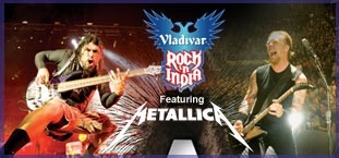 Scream Your Way To Vladivar 'Rock in India' with Metallica | I@LEWEB | Scoop.it